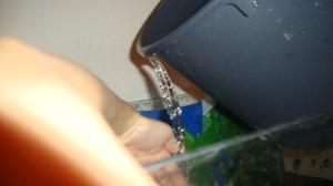 vettä altaaseen